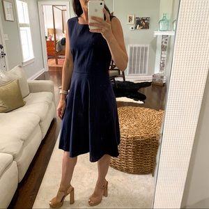 NWT TAHARI Jersey Knit Fit & Flare Dress